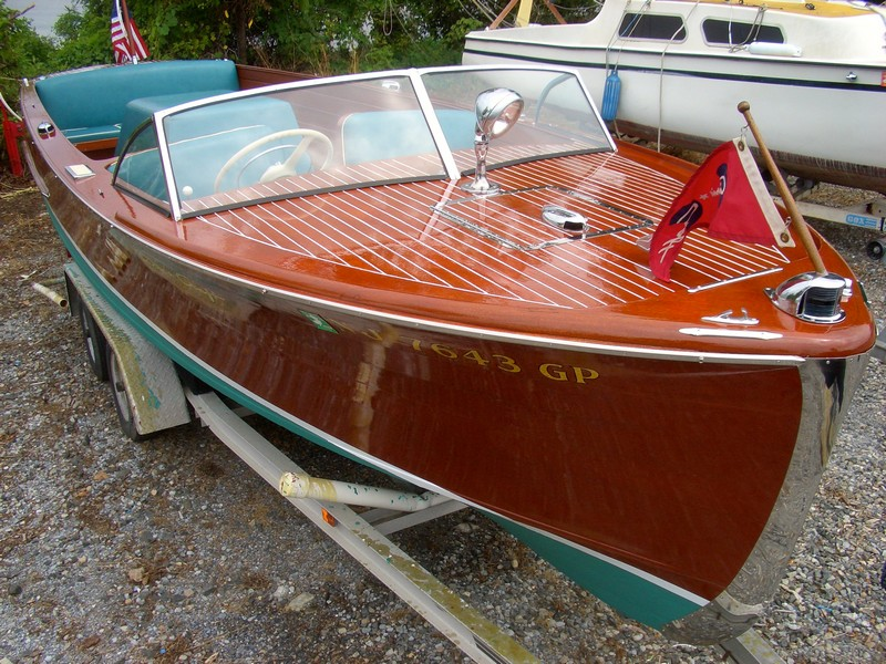 1952 22 Chris Craft Sportsman Yourclassicboat Com